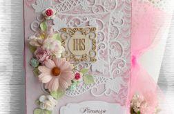 Album harmonijkowy różowy
