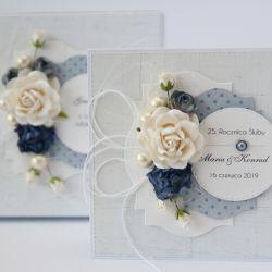 Kartka ślubna z personalizacją i pudełko S4