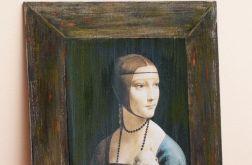 Dama z łasiczką Leonardo da Vinci
