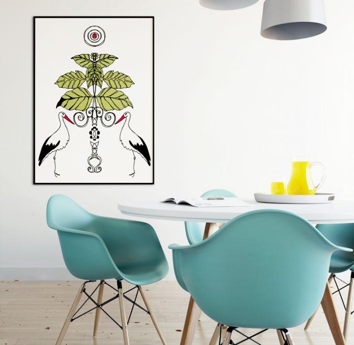 Zaklinacze Wiosny... art print A4 -
