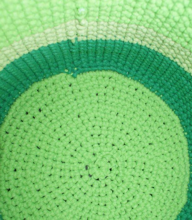 Kosz ze sznurka bawełnianego