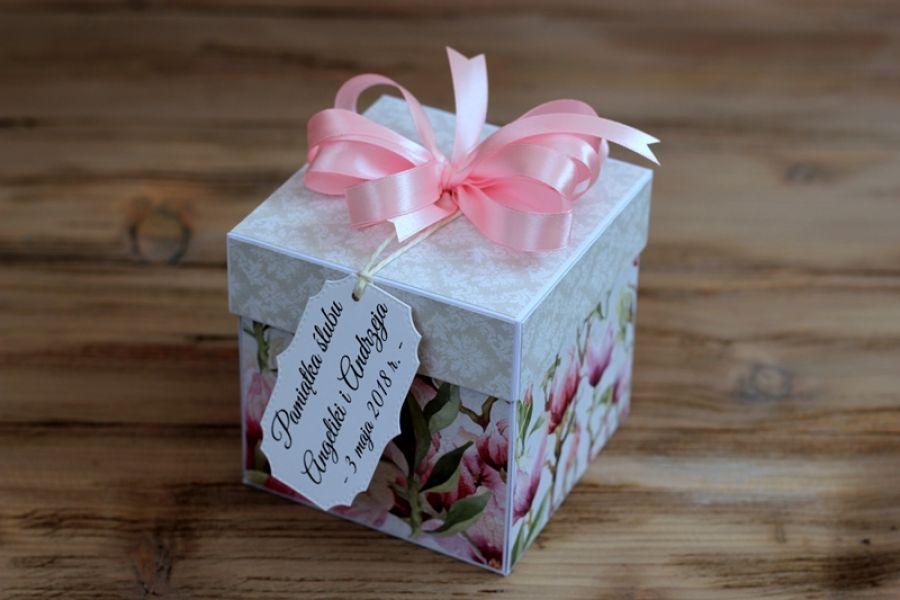 Exploding box na ślub / wesele - wzór