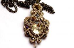 Naszyjnik-wisior sutasz Vintage Gold