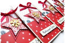 Kartka świąteczna z gwiazdką