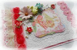 Pamiątka dla dziewczynki w rózu
