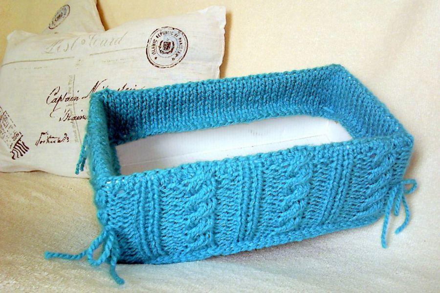 Sweterkowe pudełko