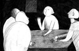 Rozmowa - oryginalny rysunek 0201