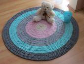 Dywan sznurkowy bawełniany okrągły