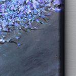 Obraz fIOLETODRZEW, wydruk na płótnie 50x50cm