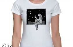 Okno - t-shirt damski - różne kolory