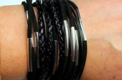 Zawijana czarna z rurkami