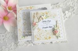 Kartka w pudełku na ślub i chrzciny 04