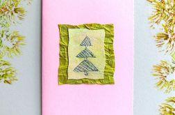Kartka  świąteczna minimalizm 24