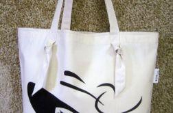 Bawełniana torba na zakupy - LADY 1