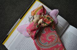 Zakładka do książki - anioł w perskie oka