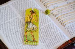 Zakładka do książki - Cytrynowa panienka