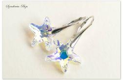 Kolczyki Swarovski Elements Starfish