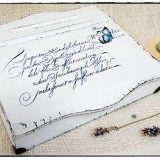 Sekretarzyk Shabby chic ~Butterflies~
