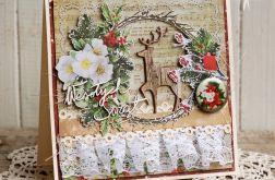 Wesołych świąt #8 (kartka z kopertą)