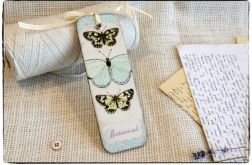 Zakładka do książki, Botanical Butterflies