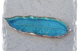 Turkusowy liść