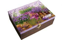 Lawendowa szkatułka