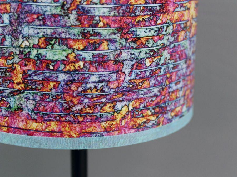 Lampa stojąca biurkowa nocna dWUFALE inter S - Oryginalny, dynamiczny wzór