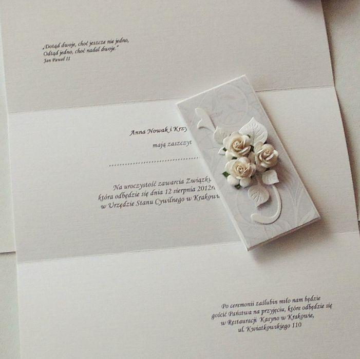 zaproszenie na ślub #5