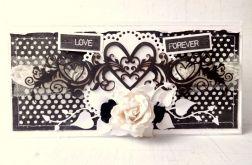 Ślubna biało-czarna