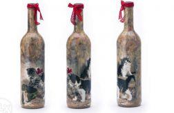 Butelka z kotkami