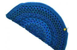 torebka pierożek w błękitach