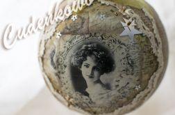 Vintage BOMBKA 12cm + STOJAK