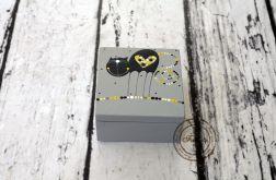 pudełko mini szare