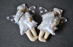 Zabawka tekstylna - Aniołek szary