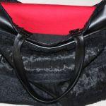 torba czarna worek skóra ekologiczna