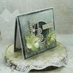 Serdeczne Życzenia- męska kartka z pudełkiem - kartka na urodziny