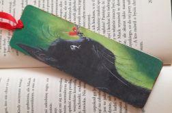 Zakładka do książki z kotami