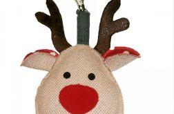 renifer świąteczny
