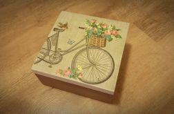 Herbaciarka z rowerem