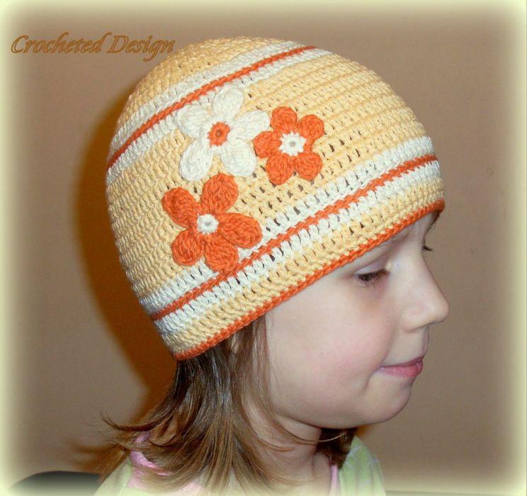 czapka wiosenno - jesienna
