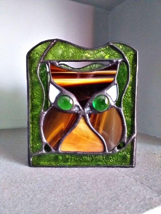 Lampion Magia Przyrody Tiffany