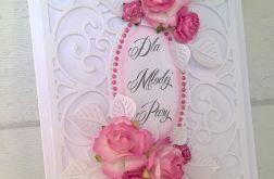 Kartka ślubna gratulacyjna