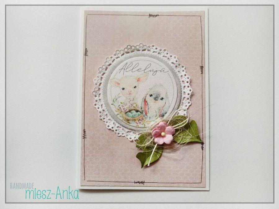 WIELKANOC - wyjątkowa KARTKA ŚWIĄTECZNA - 4 - Wielkanoc, kartka, wielkanocna, okolicznościowe