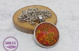 Medalion - Jesienny liść - Fabricate