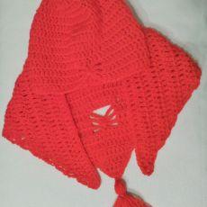 Dziecięcy komplet czapka i chusta
