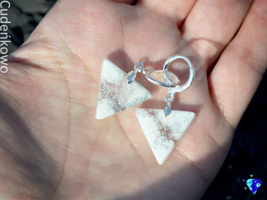 Zatopki trójkąty białe - 2