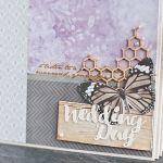 Album ślubny 20x25 - 6 zdobionych kart