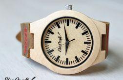 Drewniany damski zegarek RHEA