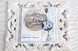 Kartka na 18 urodziny w kopercie 136