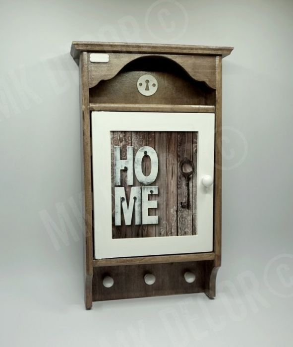 Duża szafka, domek na klucze retro HOME1 - domek na klucze